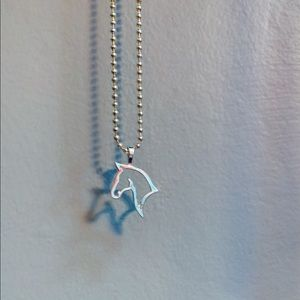 American Saddlebred Horse Head Necklace 925